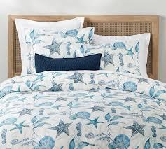 catalina coastal organic cotton duvet