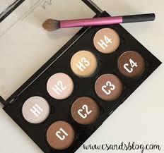 nyx cosmetics contour highlight pro