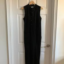 womens suede leather jumpsuit