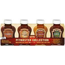 heinz pitmaster collection bbq sauce