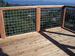 Wire Mesh Deck Railing Panels Oscarsplace Furniture Ideas Wire Mesh Deck Railing Designs