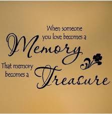 in memory of loved ones lost wedding ideas