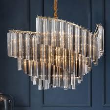 crystal glass chandelier decoration