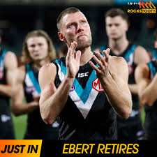 Port Adelaide veteran Brad Ebert has ...