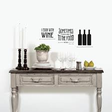 Norwall Black Lettering Wine Topography Peel And Stick Wall Decals 2 Sheets P21010d The Home Depot