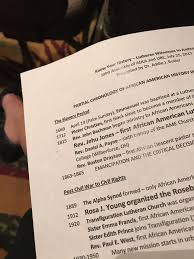 """Kathryn Lohre on Twitter: """"Sitting at the feet of @ELCA giant Addie Butler  to learn African Descent Lutheran history = learning history from history  #UBEADLA2017… https://t.co/Ng8In6DuDn"""""""
