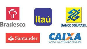 Código do Banco do Brasil, Bradesco, Caixa, Itaú, Santander ...