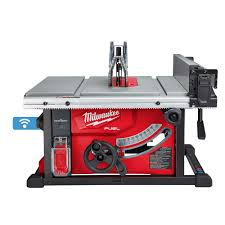 Milwaukee Tool M18 Fuel One Key 18v Lithium Ion Brushless Cordless 8 1 4 Inch Table Saw T The Home Depot Canada