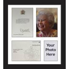 queen birthday anniversary frame white