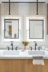 hang the perfect bathroom mirror