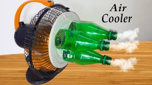 how to make an air cooler with bottle