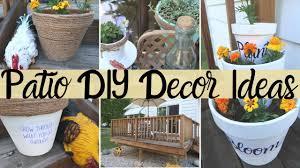 diy patio decor ideas farmhouse style