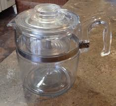 glass stovetop percolator