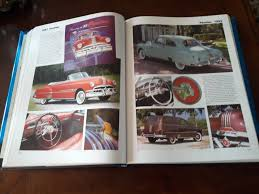 vintage books coffee table book cars