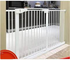Child Safety Door Guardrail Baby Safety Gates For Stairs Dog Fence Telescopic Pet Isolation Door Bar Home Pet Dog Door Bar Door Stop Pet Stairs Railing Color High 78cm Width