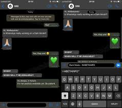 WhatsApp testing Dark Mode & previewing videos in push notifications
