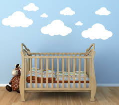 Cloud Wall Decals Clouds Vinyl Decal Clouds Decal Nursery Wall Decal Children Room Decor Playroom Vinyl Wall Decal Nursery Room Clouds Sold By Vinyll4u On Storenvy