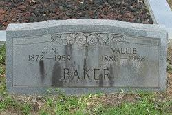 Vallie Ada Beck Baker (1880-1958) - Find A Grave Memorial
