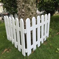 decorative fence edging border