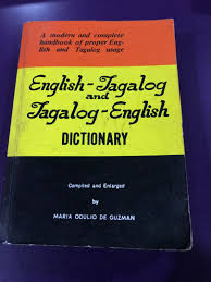 Book - English Tagalog Dictionary ...