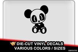 Cute Baby Panda Jdm Vinyl Decal Fun Vinyl Decal In Various Colors By Creektee On Etsy Vinyl Decals Bumper Stickers Stickers Custom