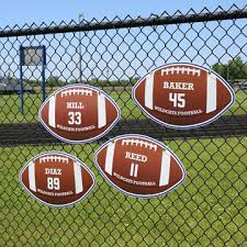 Football All Weather Custom Corex Sign Stumps
