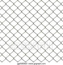 Drawing Chain Link Fence Clipart Drawing Gg4580923 Gograph
