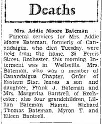 Addie Moore Bateman - Newspapers.com