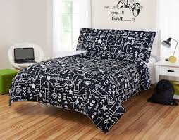 Mainstays Kids Pixelated Video Game Reversible Comforter Set Walmart Com Walmart Com