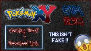 Download pokemon x and y gba rom hack