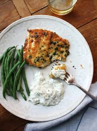 Panko Crusted Fish with Tzatziki Recipe ...