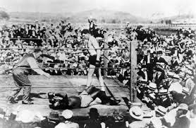 April 5, 1915: Johnson vs Willard -- The Fixed Fight That Was Anything  ButThe Fight City