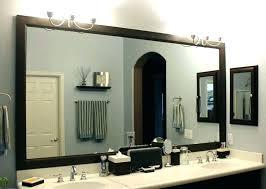 bathroom framed mirrors bigberkey info