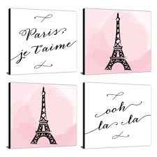 Buy Ooh La La Paris France Wall Decal Quotes Sayings Expressions Art Home Decor In Cheap Price On Alibaba Com