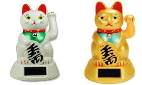 Buy Lucky Cat Japanese Beckoning Cat Maneki Neko Vinyl Decal Bumper Sticker Window Car Laptop Wall White In Cheap Price On Alibaba Com