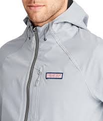 nor easter jacket in gray for men