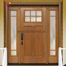 china fiberglass entry frp door with