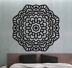 Mandala Wall Decal Namaste Flower Mandal Buy Online In Oman At Desertcart