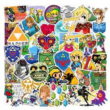 Legend Of Zelda Triforce Royal Decal Sticker For Laptop Car Window Wall Decor