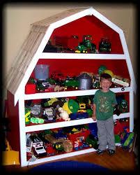 Barn Shelf Toy Rooms Kids Furniture Toy Barn