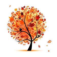 Autumn tree | Stock vector | Colourbox