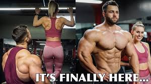 couples back workout day in the life