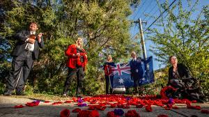 Anzac Day: The Downer street doing a ...