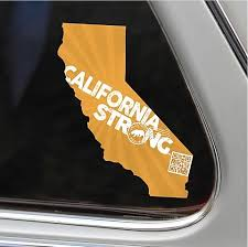 Wine Country Strong Window Decal