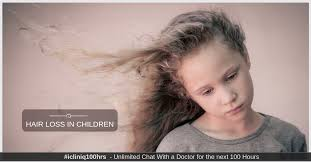 hair loss in children how to treat it