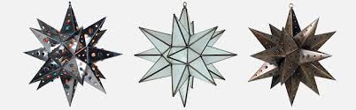 punched tin moravian star