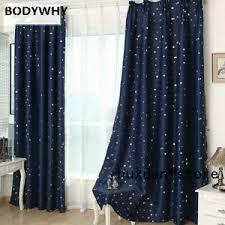 1 Panel Star Blackout Curtains Curtain Kid Room Curtain Window Treatments Drapes Ebay