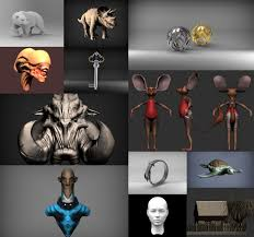 3d modeling model jewelry 3d printing