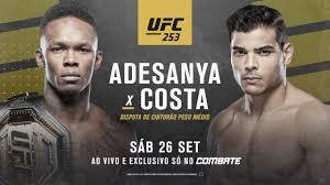 UFC 253 Adesanya vs Costa LIVE Fight - Home