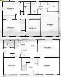 2 story polebarn house plans two